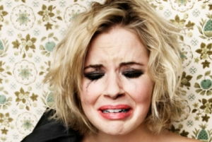 گریه زنان